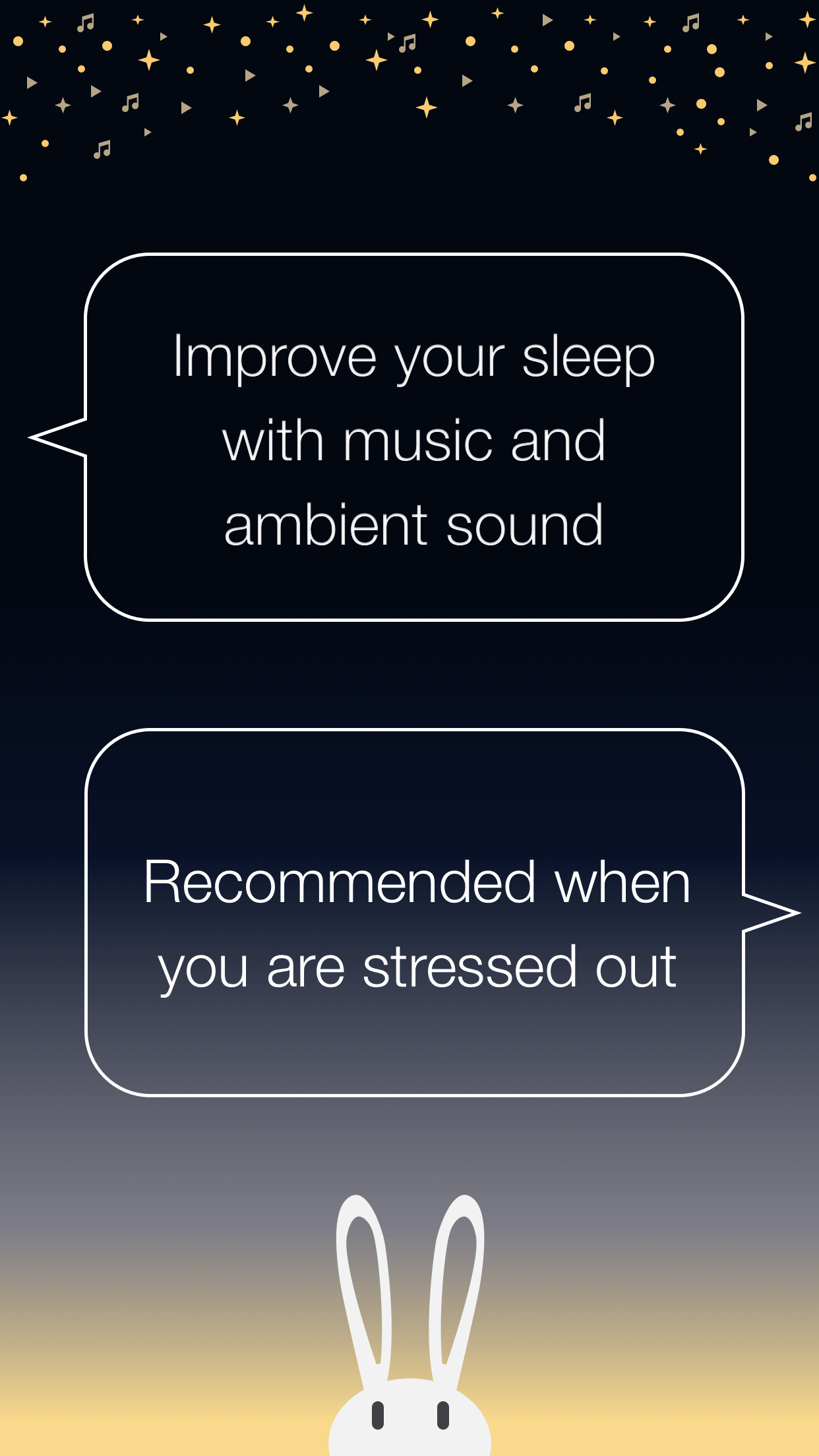 improve your sleep with musics and ambient sounds